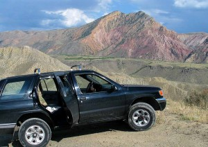 Landschaft bei Garni/Armenien