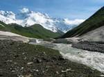 Wanderung zum Schkchara-Gletscher