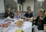 Weinprobe im Chateau Mukhrani