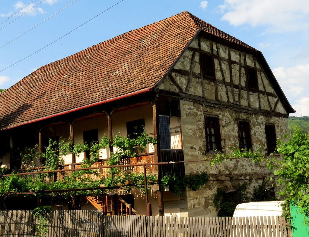 Schwäbisches Bauernhaus in Asureti