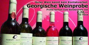 Georgische Weinprobe - Guter Wein kennt keine Kontaktverbote -
